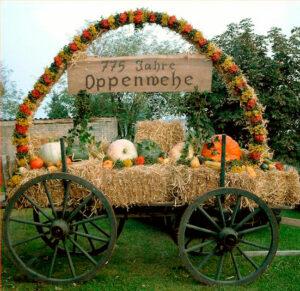 Ackerwagen 775-Jahrfeier